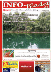 INFO-Bladet BSO Augusti 2016