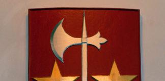 Vapenskölden för Lister är från dansk medeltid.