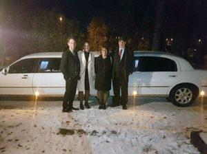 Magnus, Anne-Lie Pettersson med Ann och Lars Tobiasson.